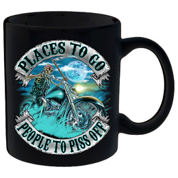 Places To Go, People To Piss Off Mug