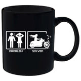 Problem Solved By Motorcycle Ladies Mug