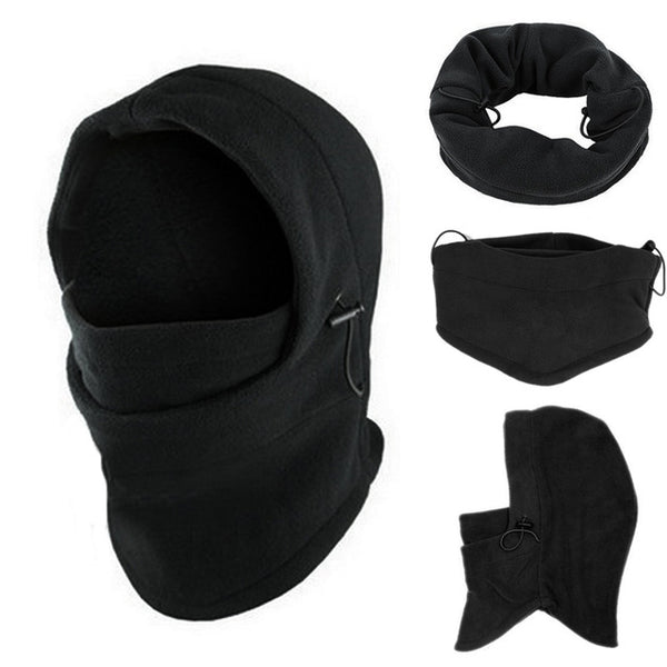 Fleece Hood / Balaclava Face Mask (6 in 1)