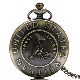 Veteran Bronze Pocket Watch