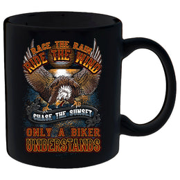 Race The Rain, Ride The Wind Mug