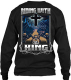 T-shirt - Riding With The King