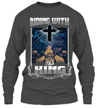 T-shirt - Riding With The King (Front Print)