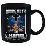 Riding With The King Mug
