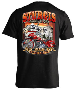 2019 Sturgis Motorcycle Rally Mount Rushmore - 79th Anniversary