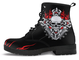 Women's Skull & Cross Boots