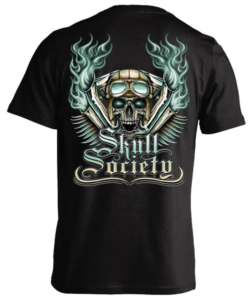 Skull Society Smokin' Pipes