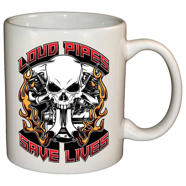 Coffee Mug - Loud Pipes Save Lives Spitfire Mug