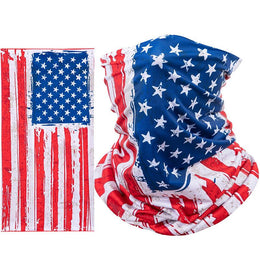 American Flag Riding Face Mask
