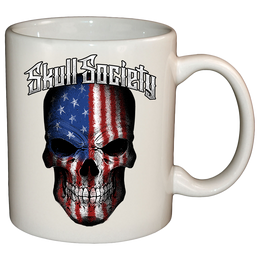 Skull Society Stars & Stripes Mug