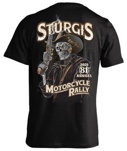 2021 Sturgis Motorcycle Rally Steampunk Cowboy - 81st Anniversary