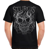 2019 Sturgis Black Hills Rally South Smokey Skull T-shirt