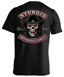 2021 Sturgis Motorcycle Rally Cowboy - 81st Anniversary