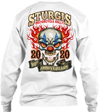 2020 Sturgis Motorcycle Rally Demented Clown - 80th Anniversary