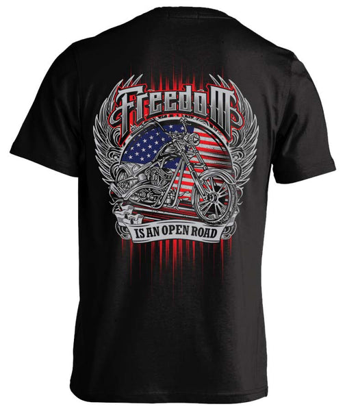 T-shirt - Freedom Is An Open Road
