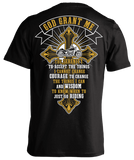 T-shirt - God Grant Me Cross & Banner