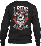 T-shirt - I Ride So I Don't Choke People