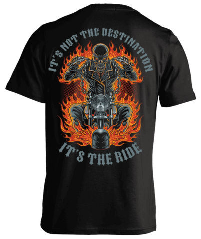 T-shirt - It's Not The Destination, It's The Ride