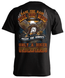 T-shirt - Race The Rain, Ride The Wind