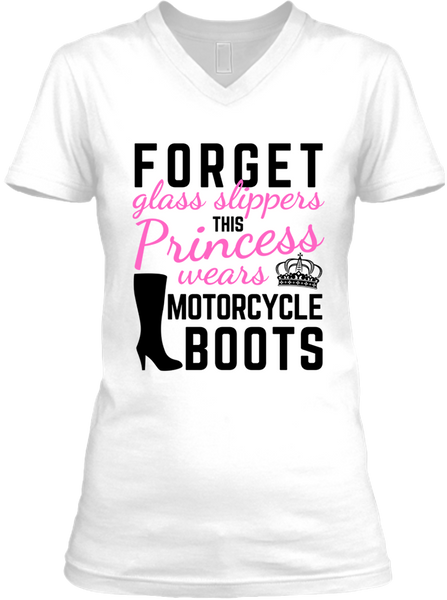 This Princess Wears Motorcycle Boots (Ladies)