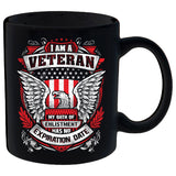 I Am A Veteran - Eagle Mug