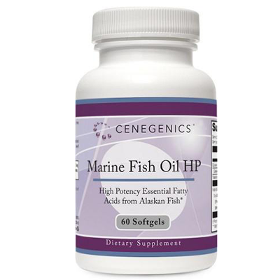 Cenegenics Marine Fish Oil Softgels - Bottle of 60 Softgels - Case (24 bottles)