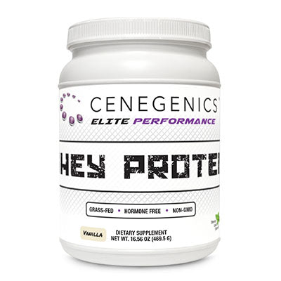 Cenegenics ELITE Performance Whey Protein - Vanilla