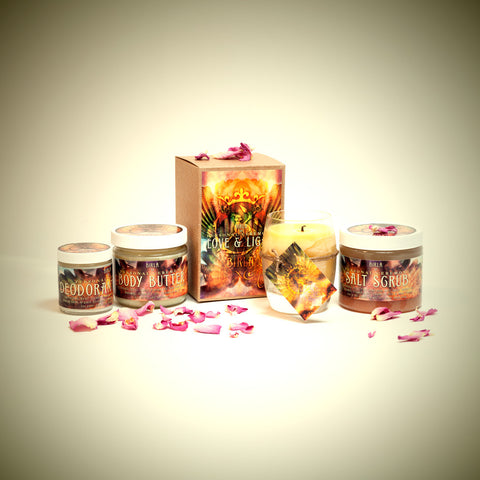 Ceremony personal care range, handmade with love by Birla