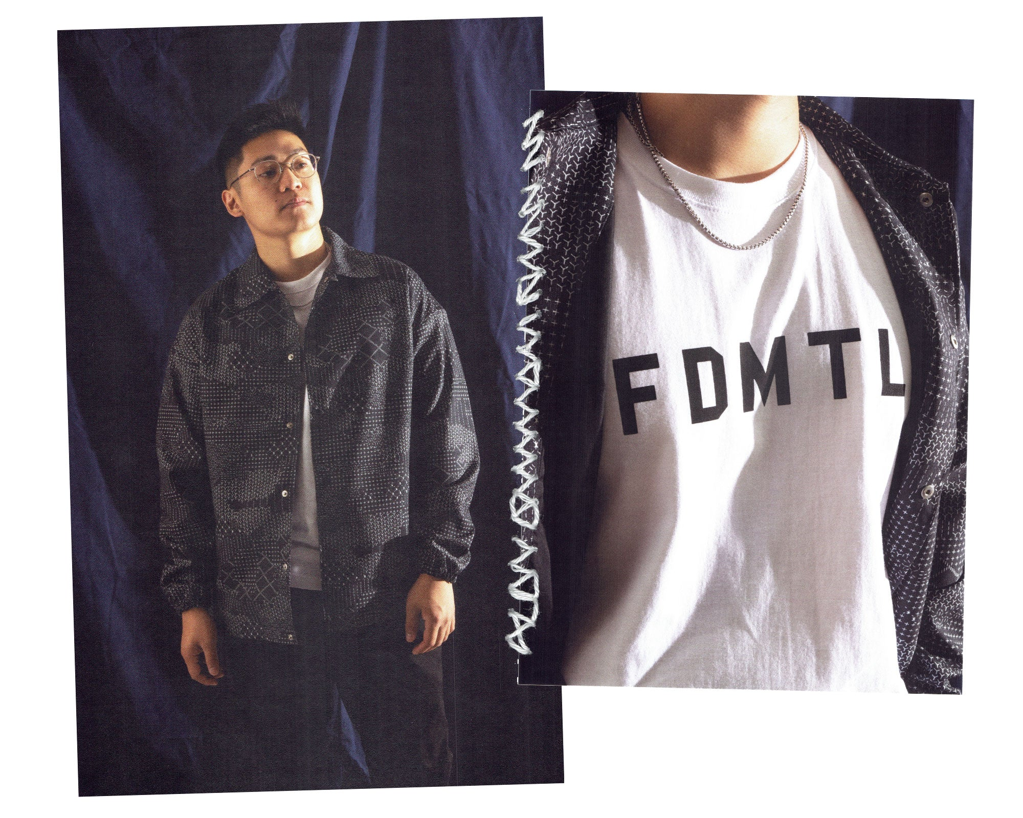 FDMTL Logo T-Shirt in White
