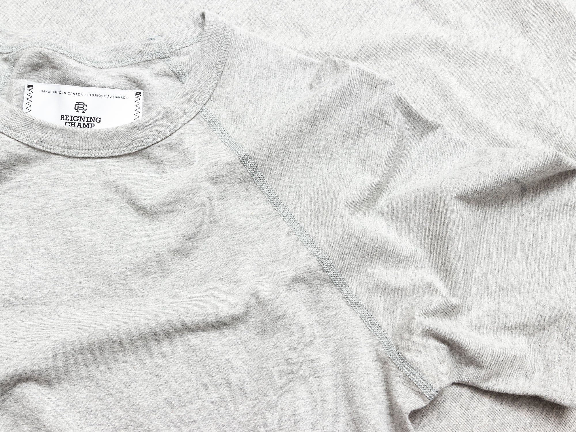 Raglan Sleeve T-Shirt Cut