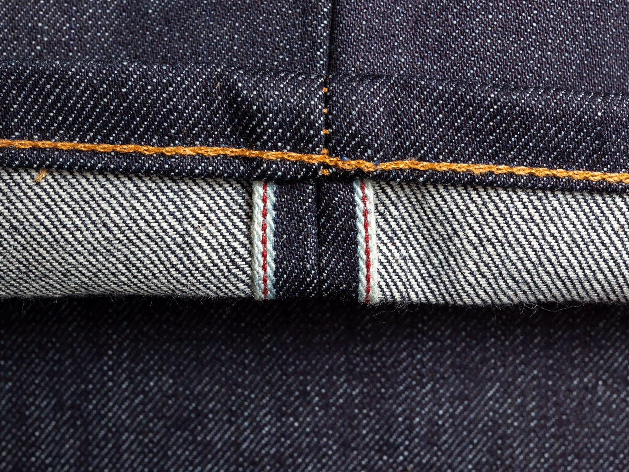 Red Selvedge Denim id