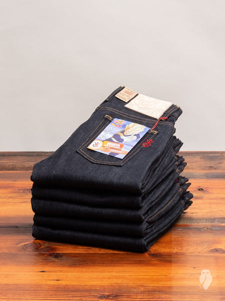 "Dragon Ball Z ""Vegeta Super Saiyan"" 16oz Unsanforized Selvedge Denim - Weird Guy Fit"