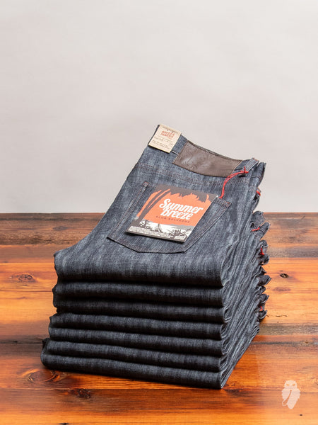 """Summer Breeze Slub"" 10oz Selvedge Denim - Super Guy Fit"