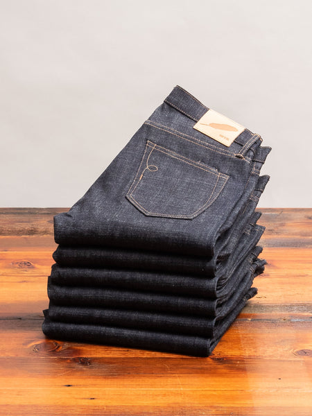 """Cryptic Indigo"" 13.5oz Selvedge Denim in SK"