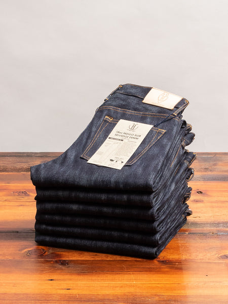 JBO-618 18oz Slub Selvedge Denim - High Tapered Fit