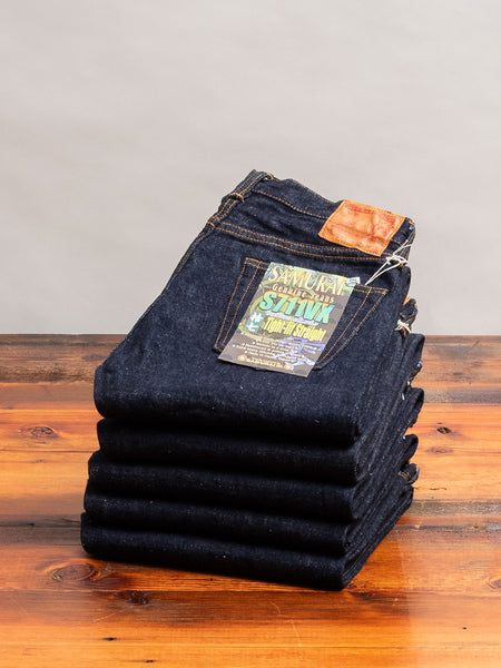 "S711VX ""Zero Bushido"" 17oz Selvedge Denim - Slim Straight Fit"