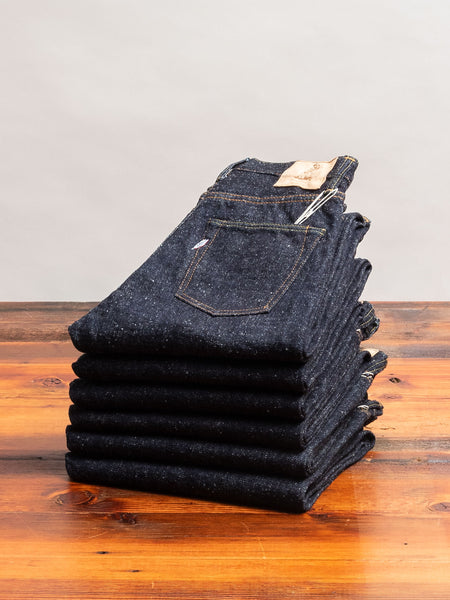 SN-019 16oz Rinsed Selvedge Denim - Relaxed Tapered Fit