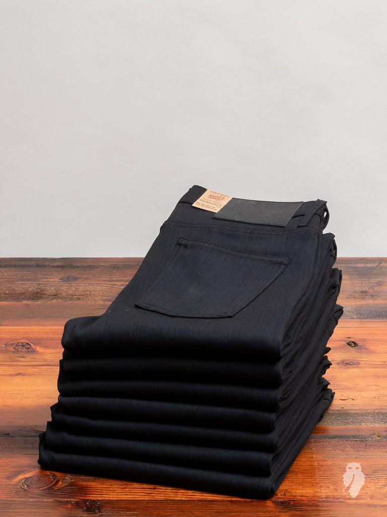 """Black Power Stretch"" 12oz Denim - Super Skinny Guy Fit"