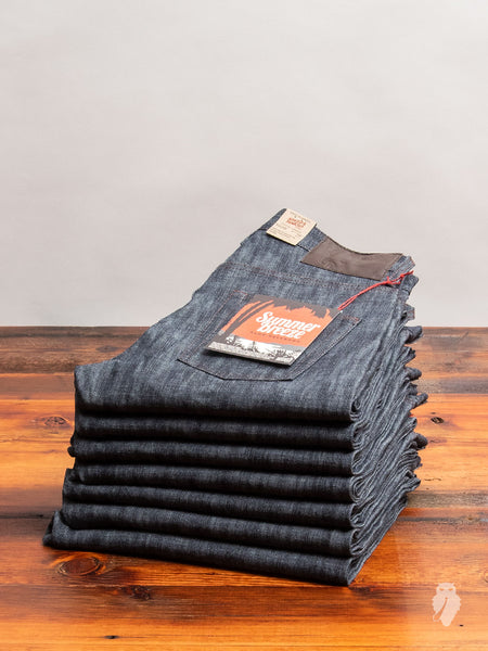 """Summer Breeze Slub"" 10oz Selvedge Denim - Easy Guy Fit"