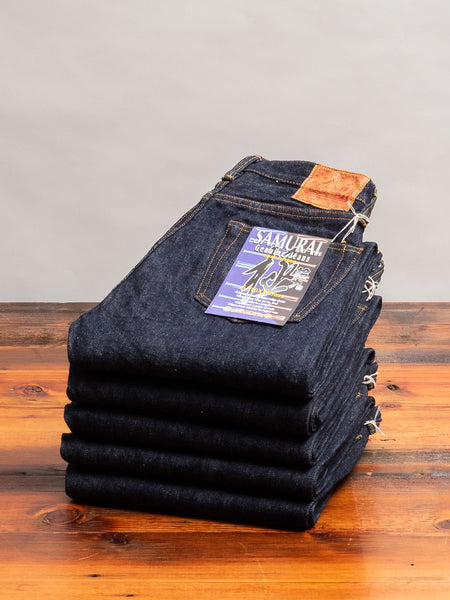 "S710XX19oz ""Kiwami"" 19oz Selvedge Denim - Slim Straight Fit"