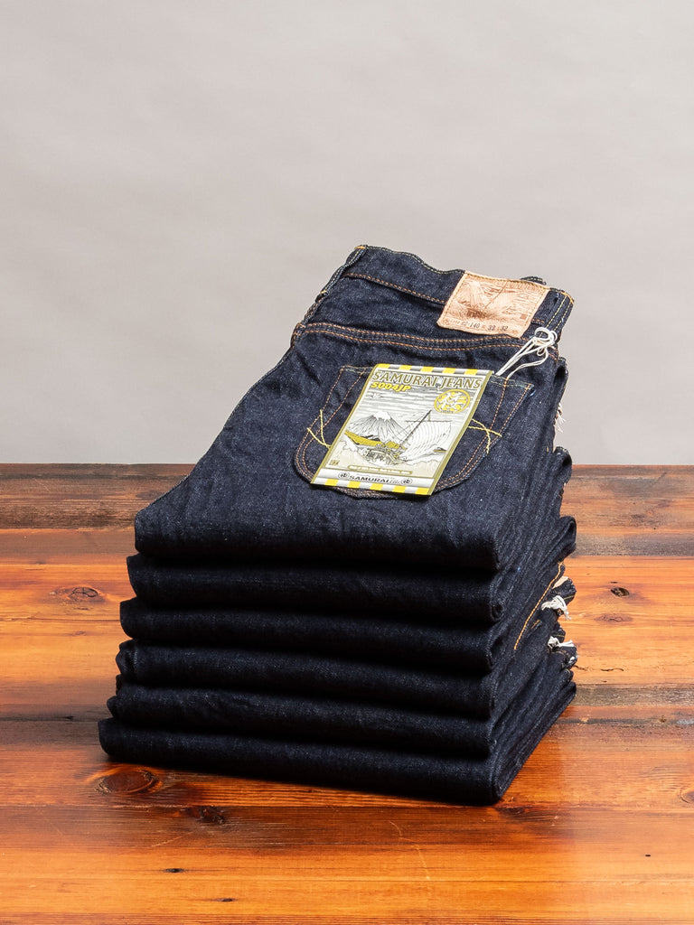 "S004JP ""Yamato"" 15oz Selvedge Denim - Slim Tapered Fit"