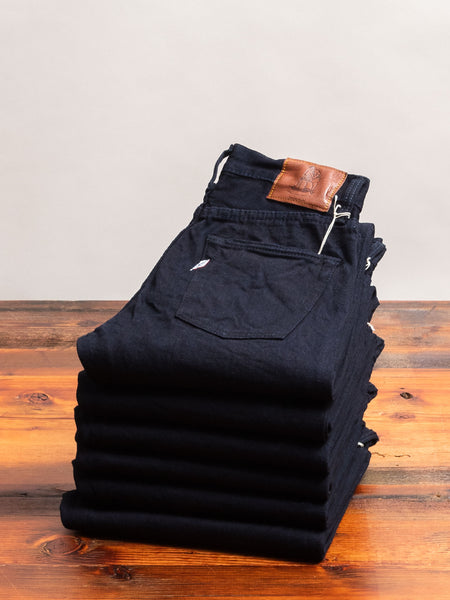 "XX-012 ""Deep Indigo"" 14oz Rinsed Selvedge Denim - Slim Tapered Fit"