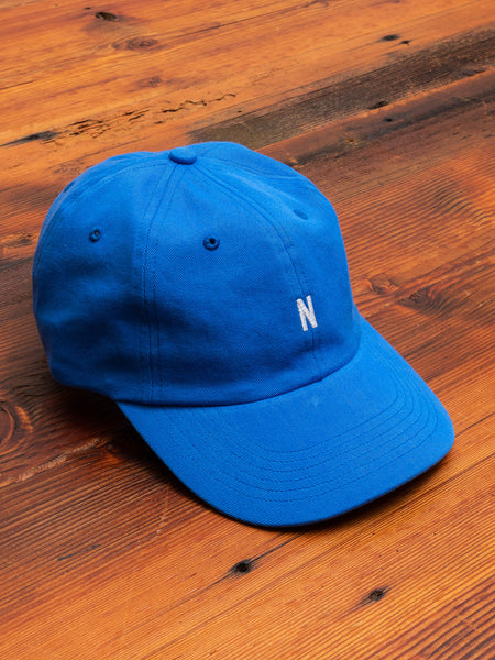 Twill Sports Cap in Himmel Blue