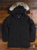 """Banff"" Parka in Black"