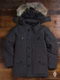 """Banff"" Parka in Graphite"
