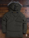 """Banff"" Parka in Military Green"