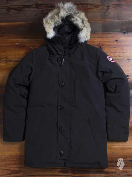 """Chateau"" Parka in Black"