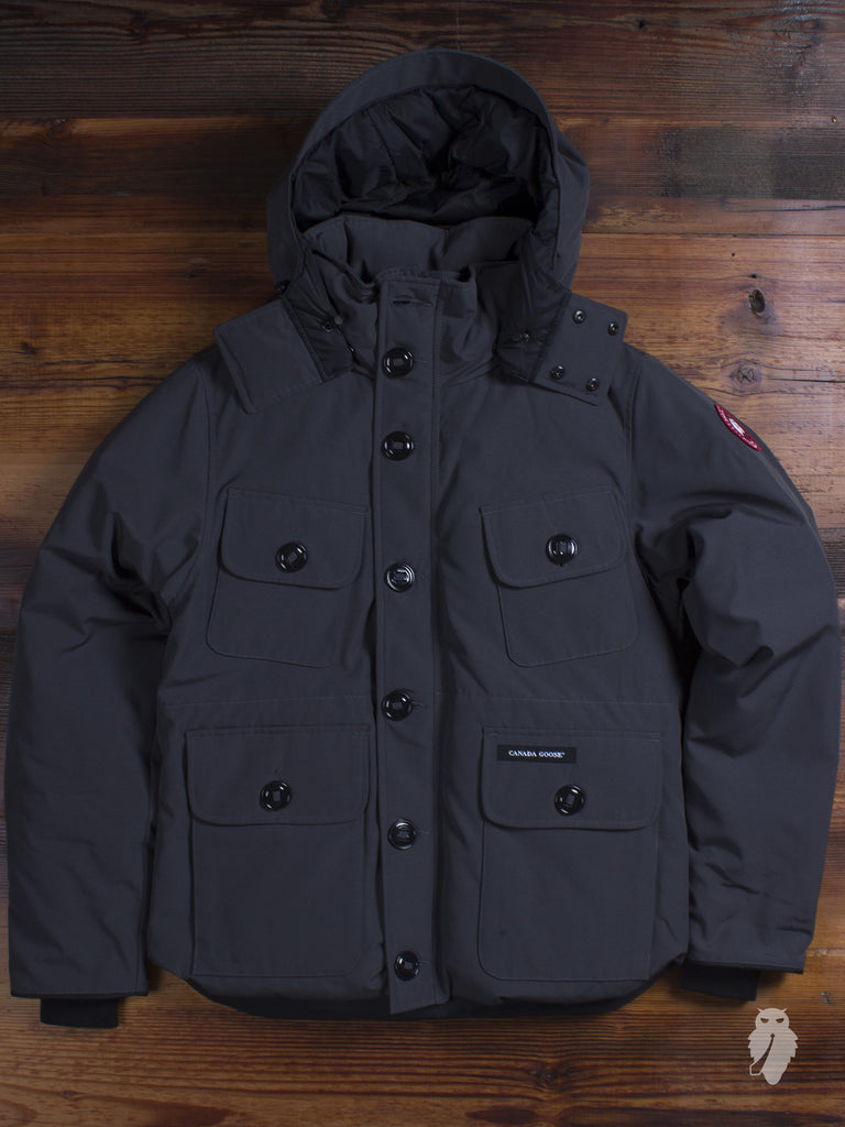 """Selkirk"" Parka in Graphite"
