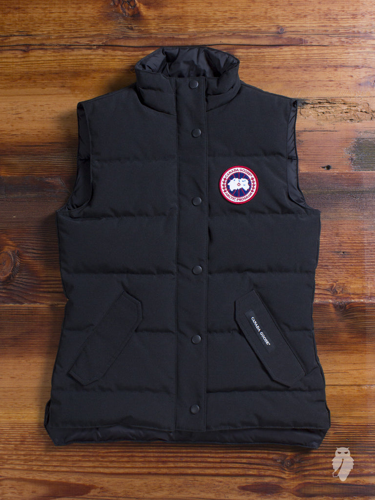 "Women's ""Freestyle"" Vest in Black"