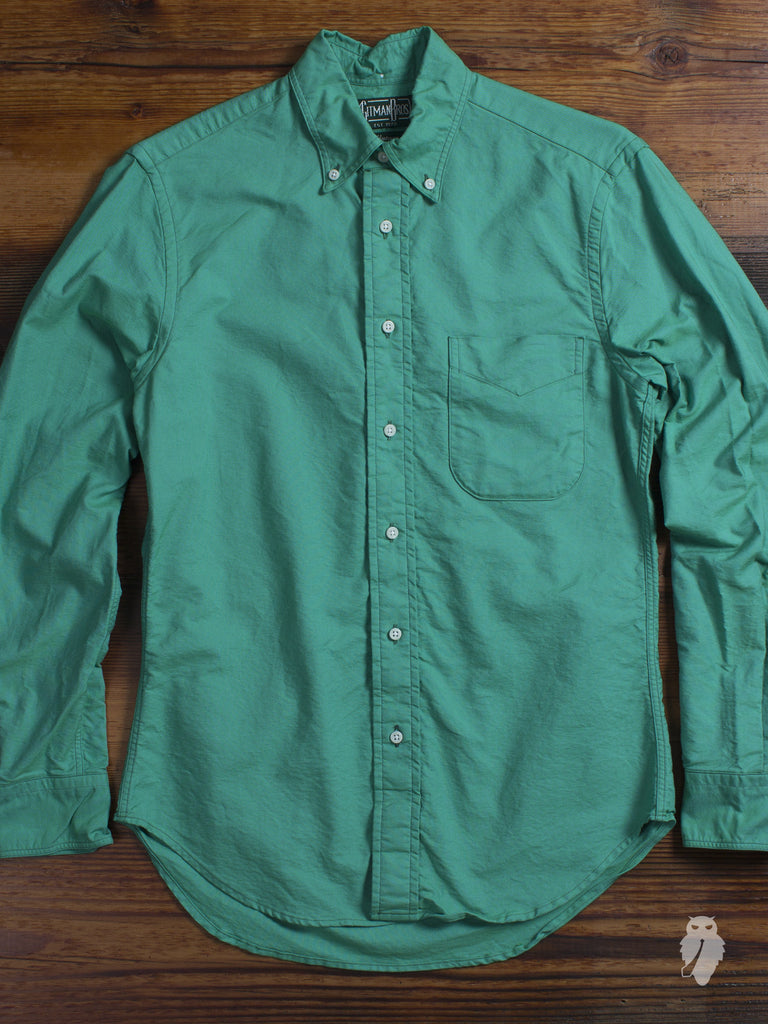 Overdyed Oxford in Jade